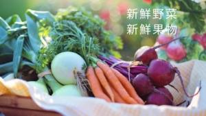 新鮮な野菜・果物あります!